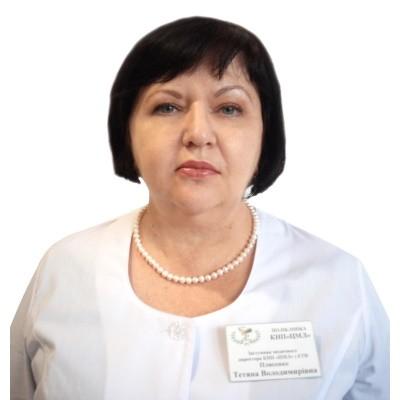 Плисенко Тетяна Володимирівна