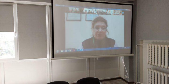 Станіславою Валевською проведено онлайн – тренінг на тему: «Психологічна допомога після пост стресового синдрому на фоні перенесеного COVID-19»